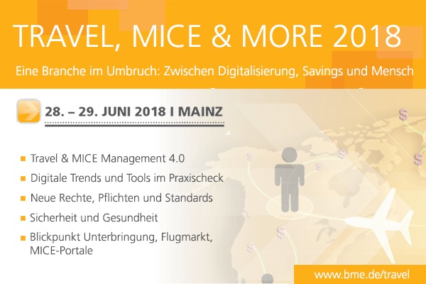 BME Kongress DER Business Travel Mainz